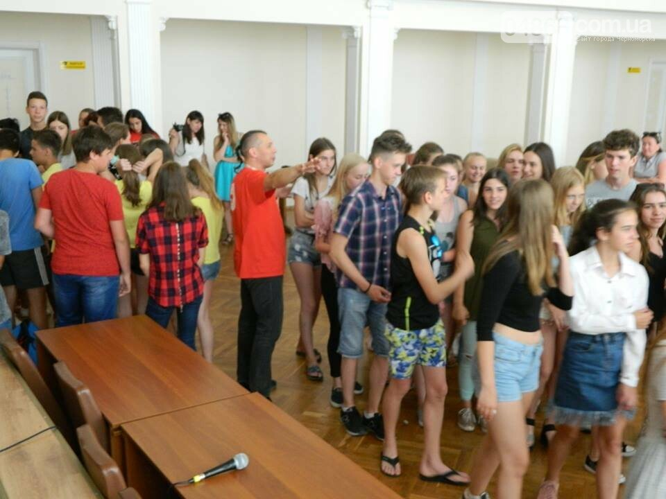 Слушатели Школы лидеров встретились с теми, кто стоит на страже здоровья в Черноморске, фото-7