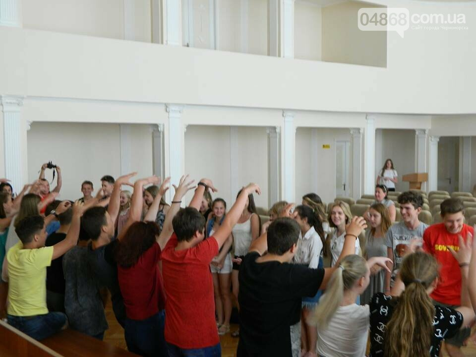 Слушатели Школы лидеров встретились с теми, кто стоит на страже здоровья в Черноморске, фото-6