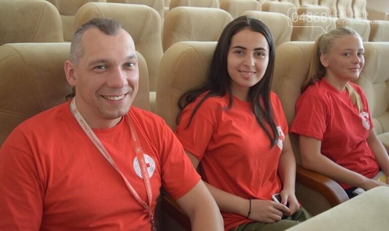 Слушатели Школы лидеров встретились с теми, кто стоит на страже здоровья в Черноморске, фото-5