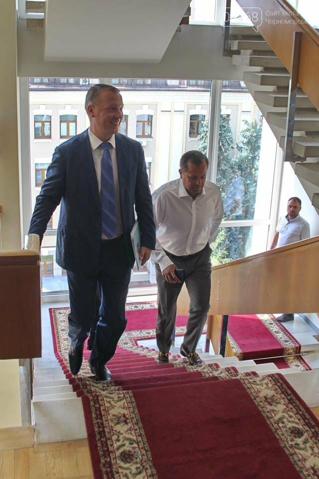 «Черноморску выделено 30 миллионов гривен на дофинансирование мостового перехода через Сухой лиман», - Юрий Крук, фото-1