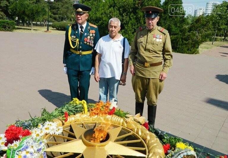 Сегодня, 22 июня, в Черноморске вспоминали, «какой ценой завоёвано счастье», фото-9