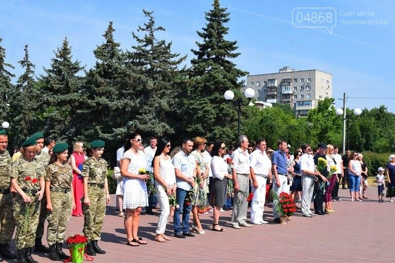 Сегодня, 22 июня, в Черноморске вспоминали, «какой ценой завоёвано счастье», фото-12