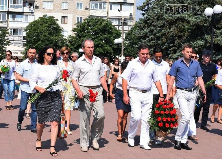Сегодня, 22 июня, в Черноморске вспоминали, «какой ценой завоёвано счастье», фото-13