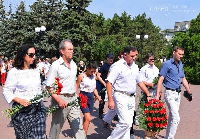 Сегодня, 22 июня, в Черноморске вспоминали, «какой ценой завоёвано счастье», фото-2