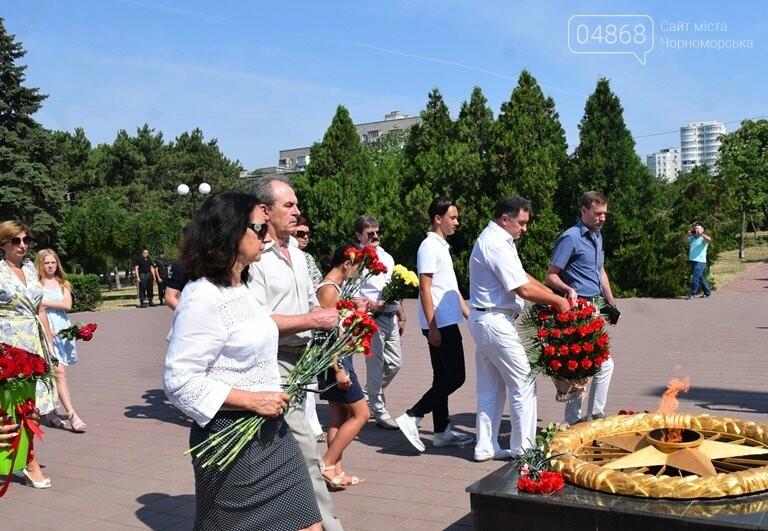 Сегодня, 22 июня, в Черноморске вспоминали, «какой ценой завоёвано счастье», фото-8