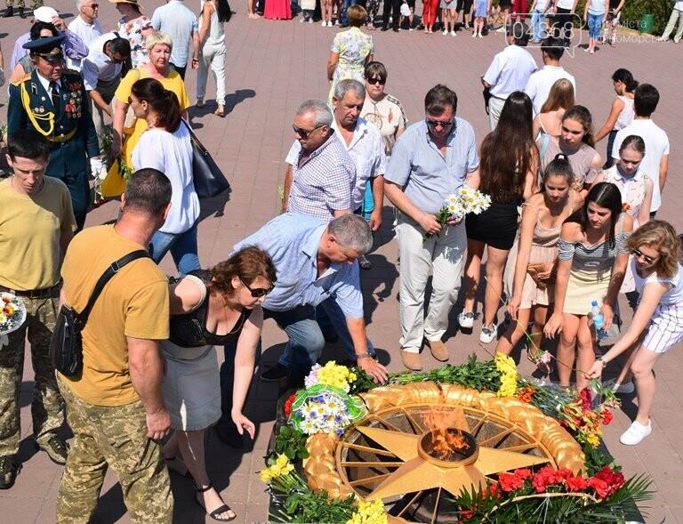 Сегодня, 22 июня, в Черноморске вспоминали, «какой ценой завоёвано счастье», фото-5
