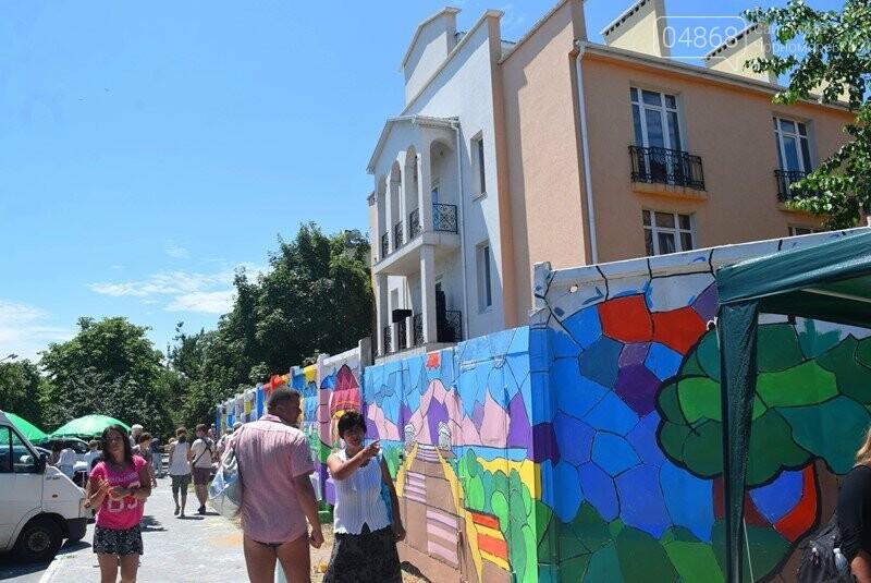 Драйв творчества: «Art weekend» подарил Черноморску новый мурал, а участникам проекта – отличное настроение, фото-29