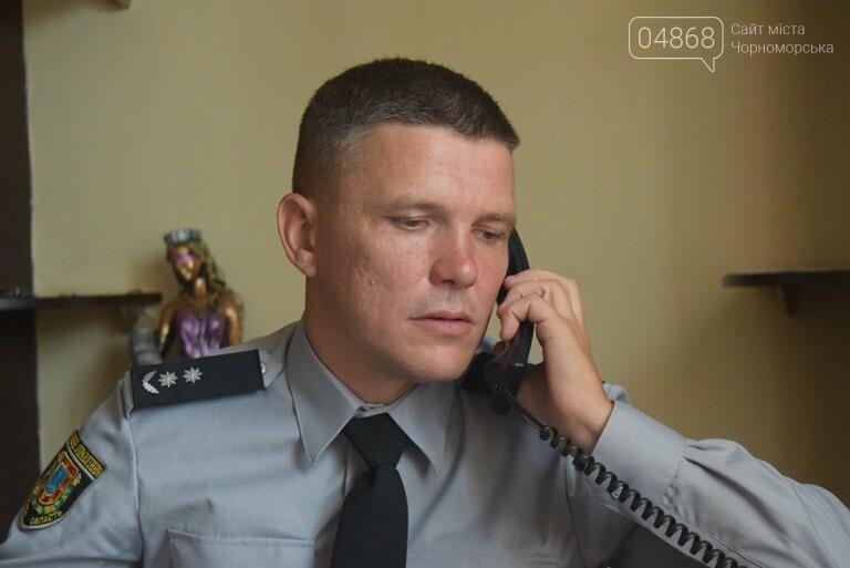 Новый начальник полиции Черноморска молод, настроен решительно и не смотрит телевизор , фото-4