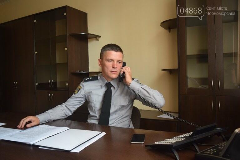 Новый начальник полиции Черноморска молод, настроен решительно и не смотрит телевизор , фото-2