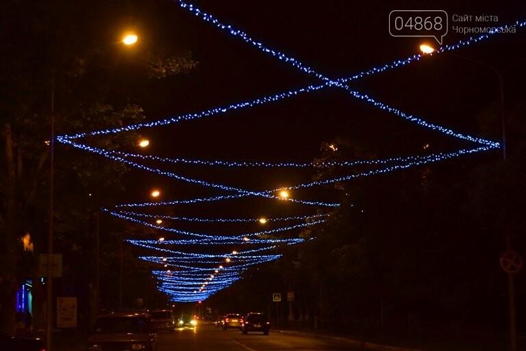 «Огни ночного города»: в Черноморске появилась новая иллюминация, фото-5