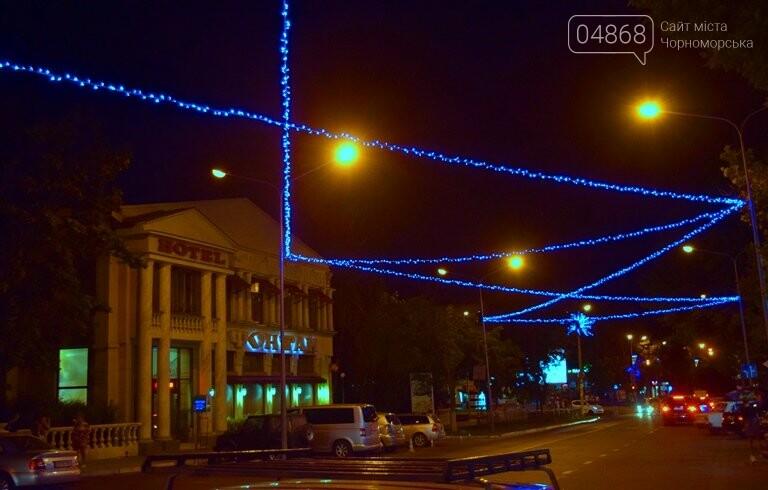 «Огни ночного города»: в Черноморске появилась новая иллюминация, фото-4