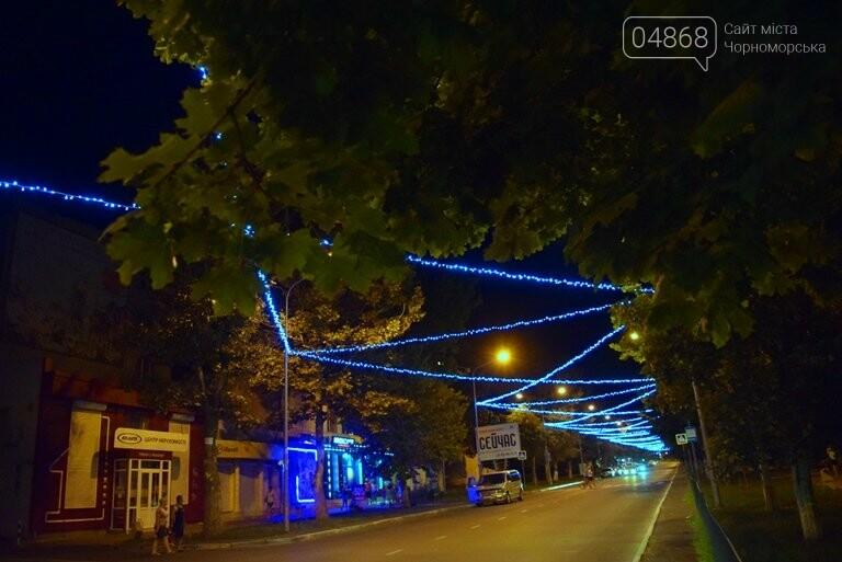 «Огни ночного города»: в Черноморске появилась новая иллюминация, фото-6