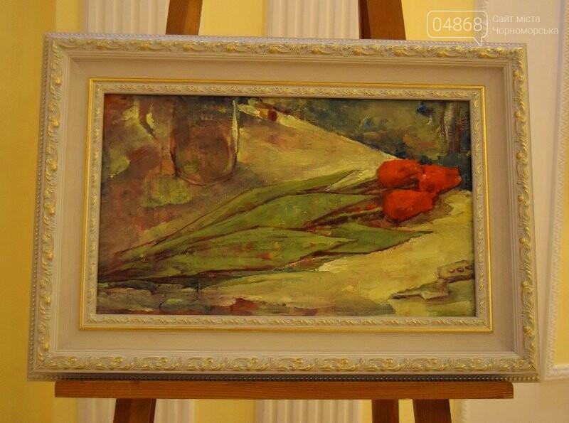 Немного вина, много эротики и красоты: в Черноморске представили картины Гарольда Измайловского, фото-6