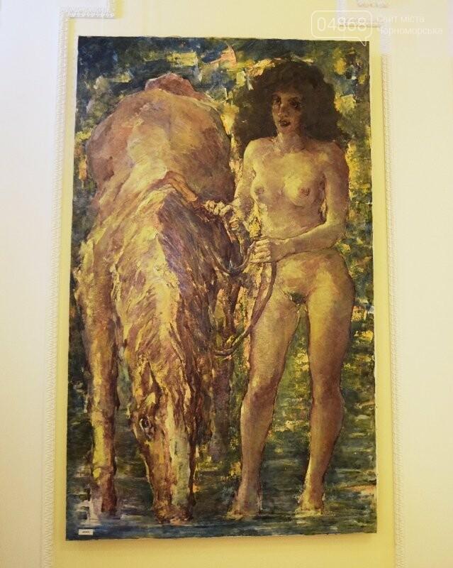 Немного вина, много эротики и красоты: в Черноморске представили картины Гарольда Измайловского, фото-22