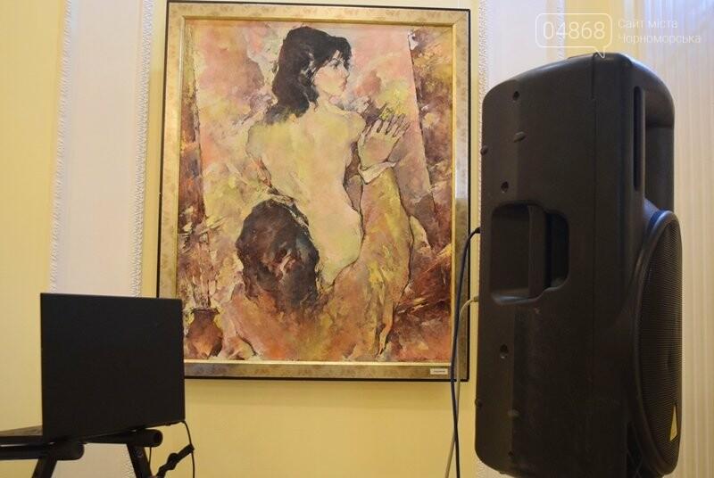 Немного вина, много эротики и красоты: в Черноморске представили картины Гарольда Измайловского, фото-2
