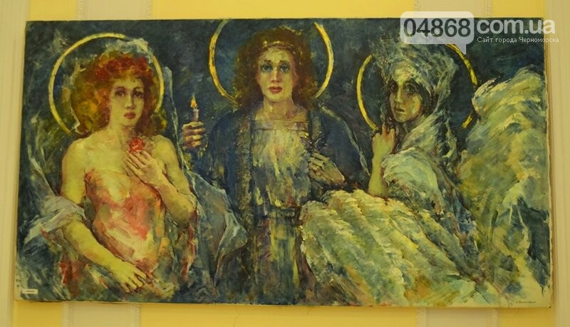 Немного вина, много эротики и красоты: в Черноморске представили картины Гарольда Измайловского, фото-4