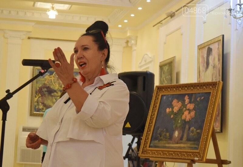 Немного вина, много эротики и красоты: в Черноморске представили картины Гарольда Измайловского, фото-15
