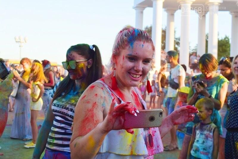 Яркие эмоции, драйв и позитив: в Черноморске прошла «Битва красок» , фото-23
