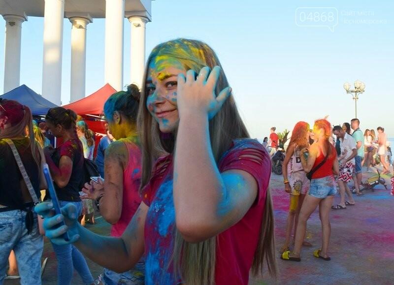 Яркие эмоции, драйв и позитив: в Черноморске прошла «Битва красок» , фото-26