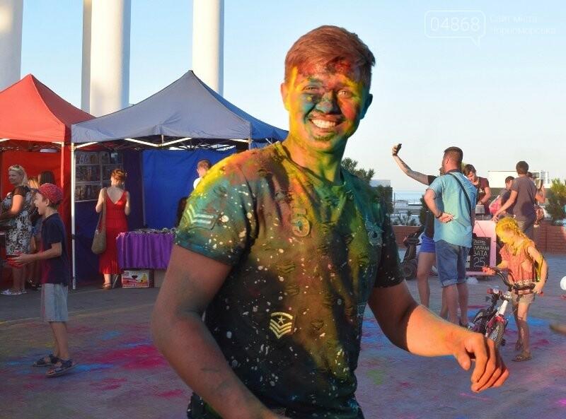 Яркие эмоции, драйв и позитив: в Черноморске прошла «Битва красок» , фото-27