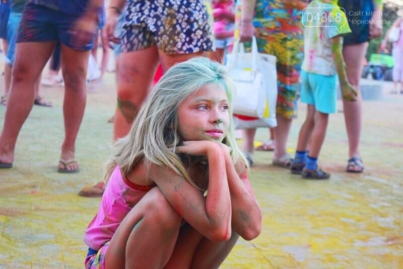 Яркие эмоции, драйв и позитив: в Черноморске прошла «Битва красок» , фото-3