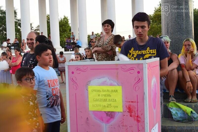 Яркие эмоции, драйв и позитив: в Черноморске прошла «Битва красок» , фото-34