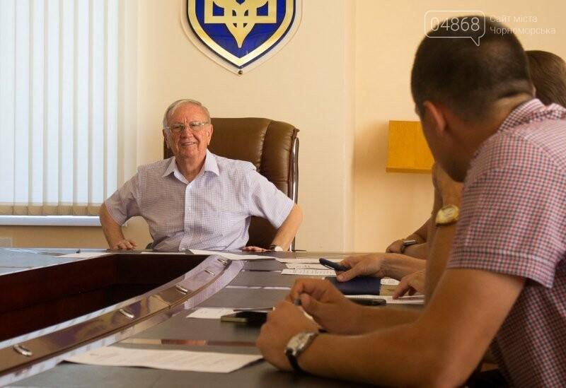 Черноморск готовится к Дню Независимости, фото-8