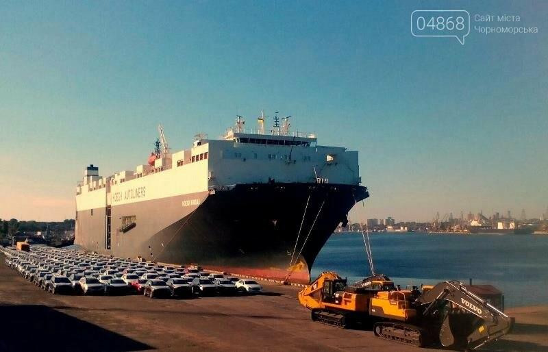 В МТП «Черноморск» обработано судно-гигант, фото-2