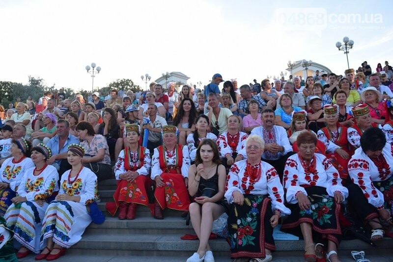 Около 1000 человек стали участниками Всеукраинского фестиваля «Серпневий заспів» в Черноморске, фото-32