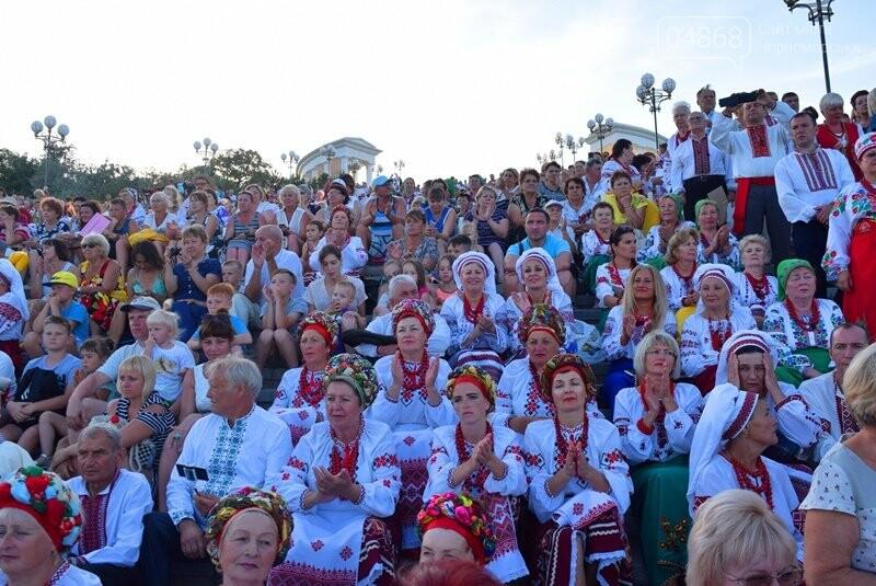 Около 1000 человек стали участниками Всеукраинского фестиваля «Серпневий заспів» в Черноморске, фото-10