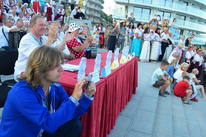 Около 1000 человек стали участниками Всеукраинского фестиваля «Серпневий заспів» в Черноморске, фото-16
