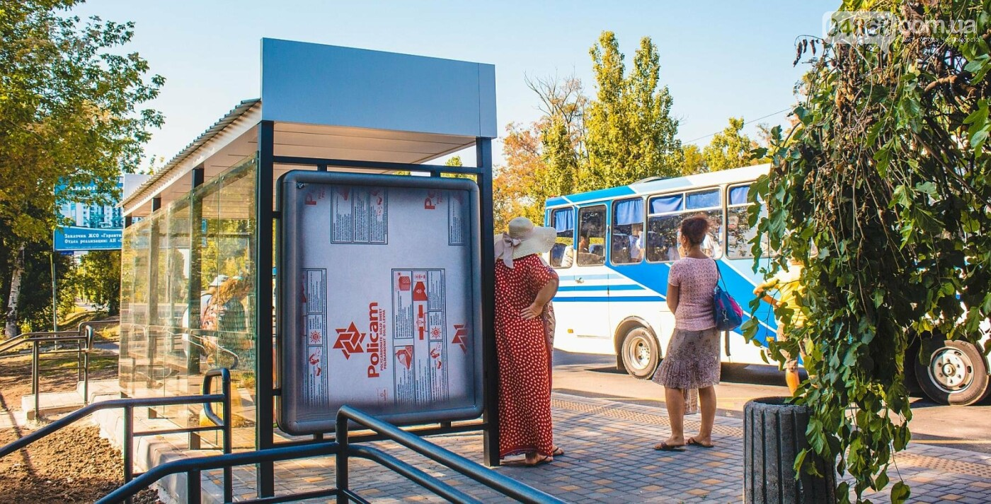 В Черноморске завершены работы по монтажу новых остановок, фото-3