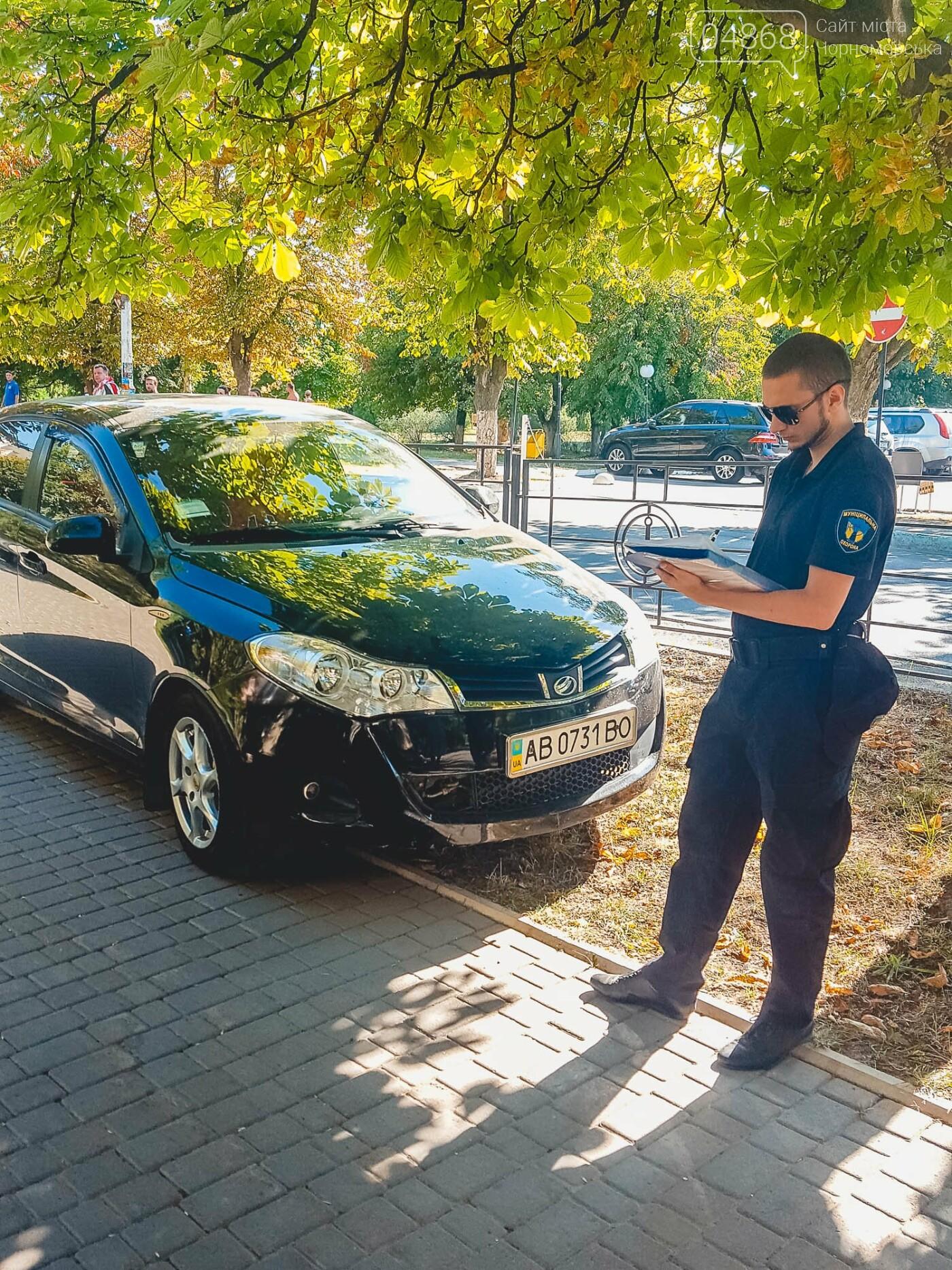 На нарушителей парковки в Черноморске ежедневно составляется свыше 10 актов, фото-6