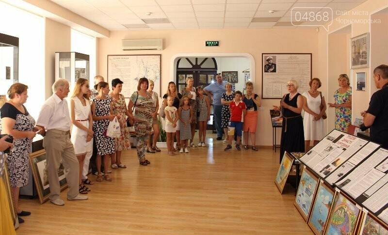 В Музее истории порта наградили юных художников Черноморска, фото-1