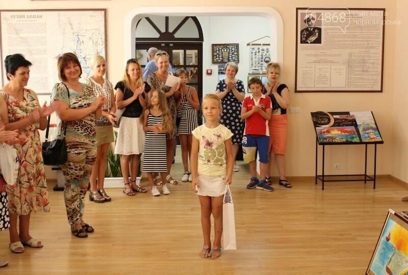 В Музее истории порта наградили юных художников Черноморска, фото-15
