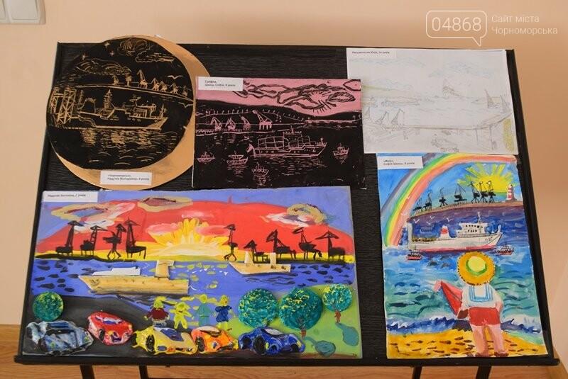В Музее истории порта наградили юных художников Черноморска, фото-19