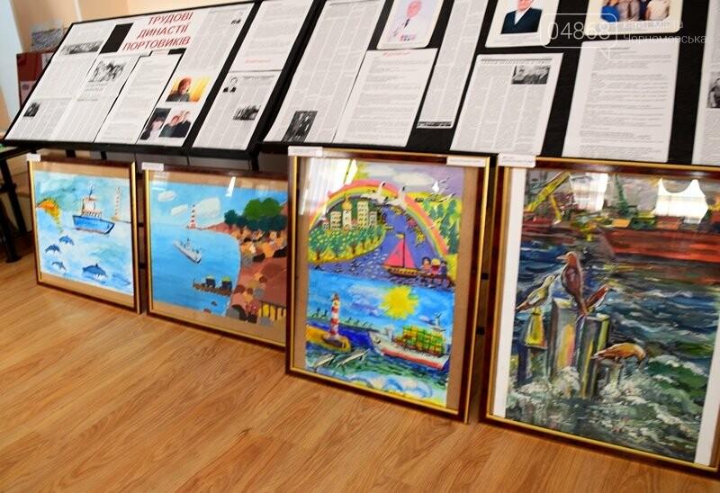 В Музее истории порта наградили юных художников Черноморска, фото-22