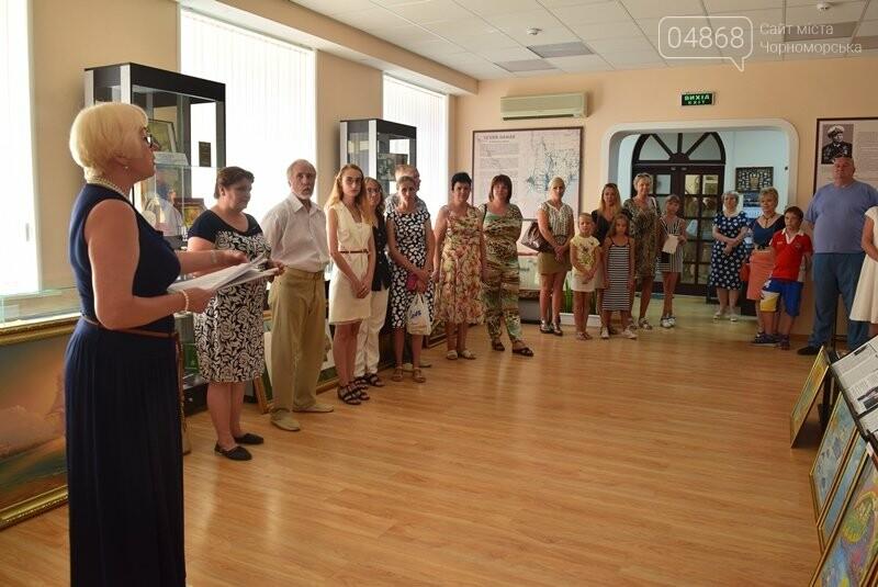 В Музее истории порта наградили юных художников Черноморска, фото-23