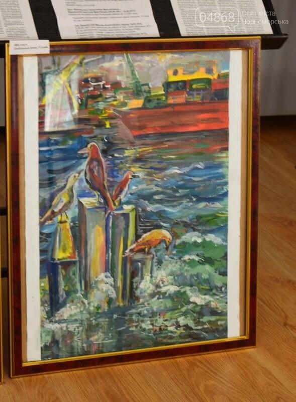 В Музее истории порта наградили юных художников Черноморска, фото-24