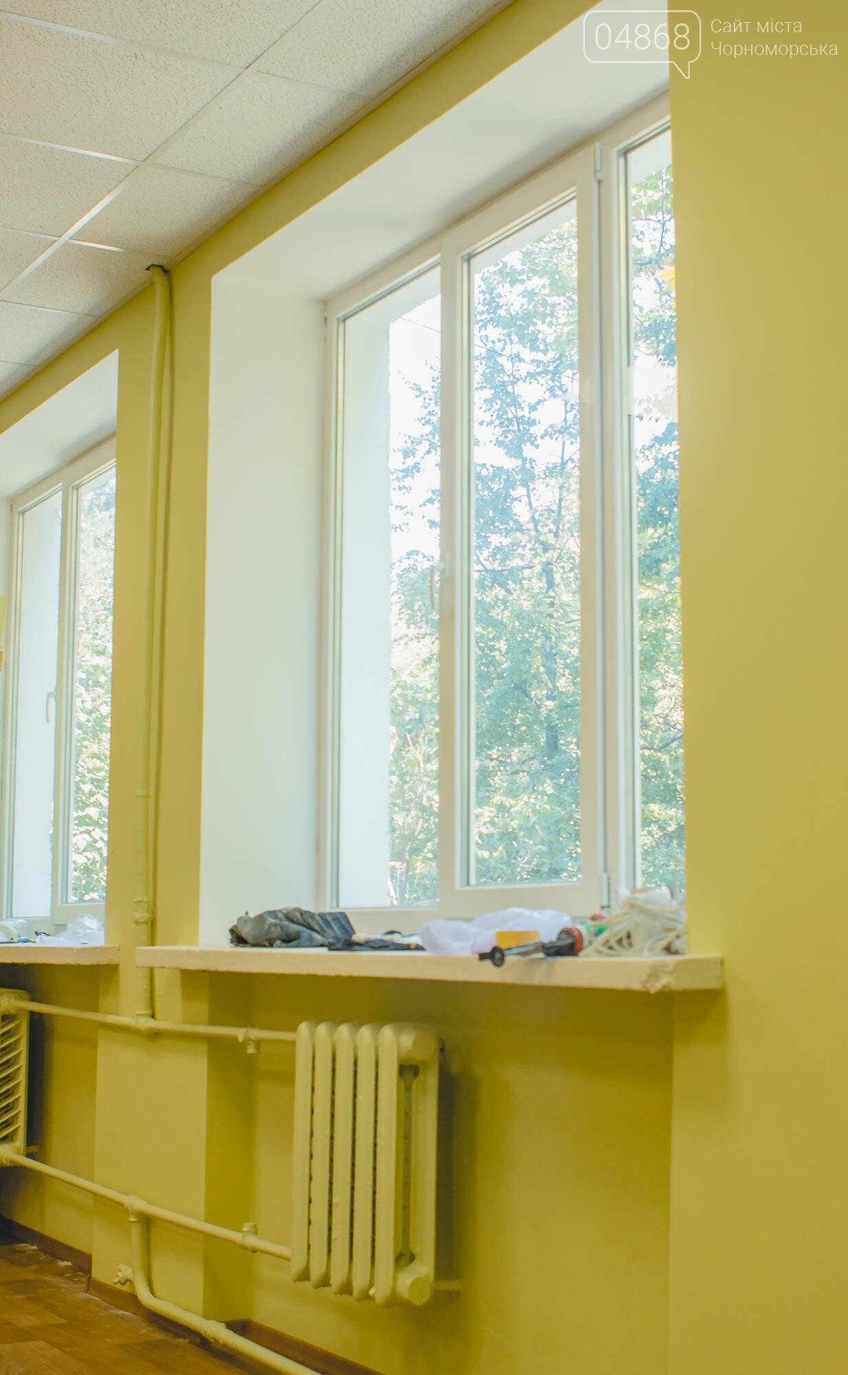 Новые окна, кабинеты и пищеблок: школы Черноморска готовятся к 1 сентября, фото-11