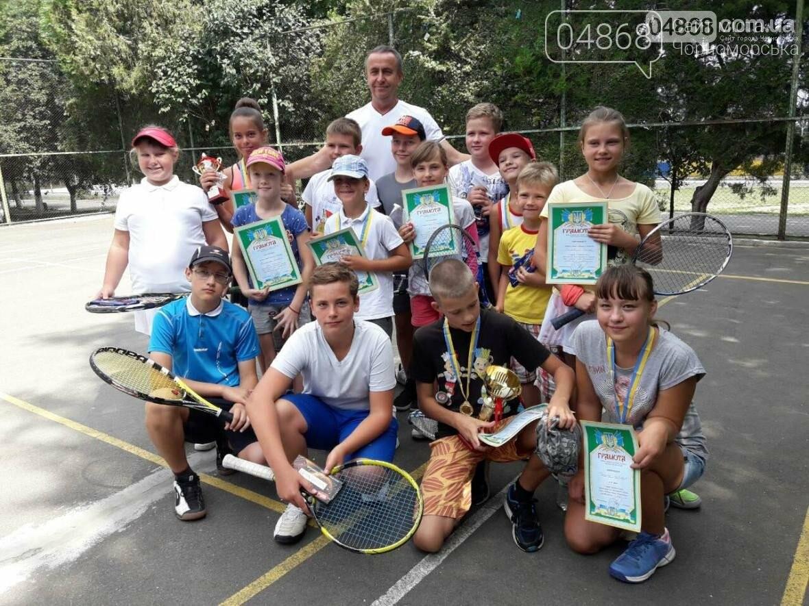 К Дню Независимости Украины в Черноморске пройдёт сразу три теннисных турнира, фото-2