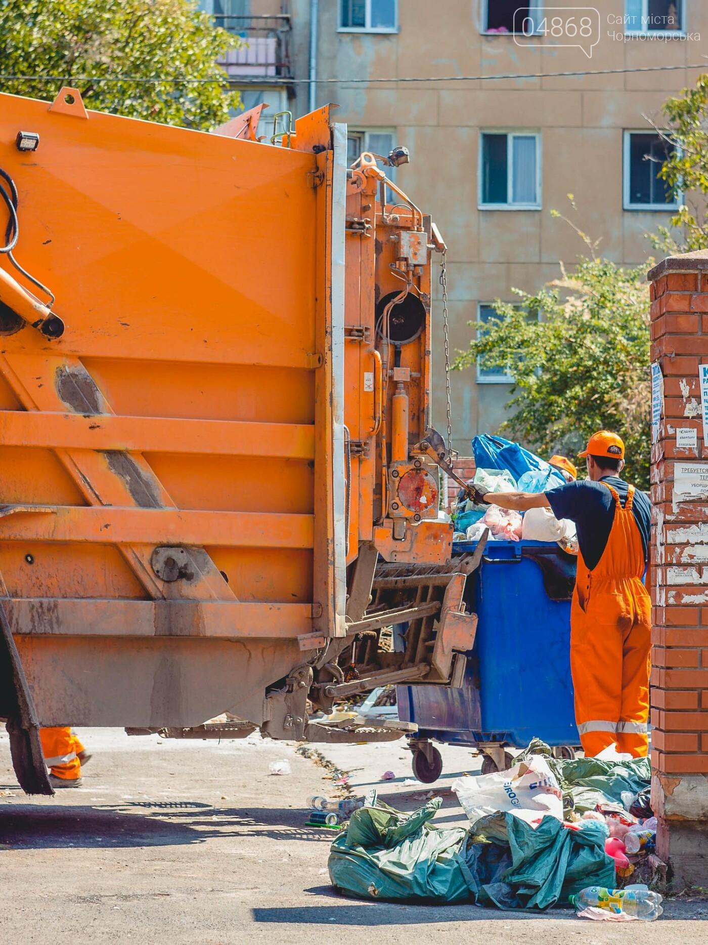 О раздельном сборе твёрдых и не очень бытовых отходов в Черноморске, фото-18