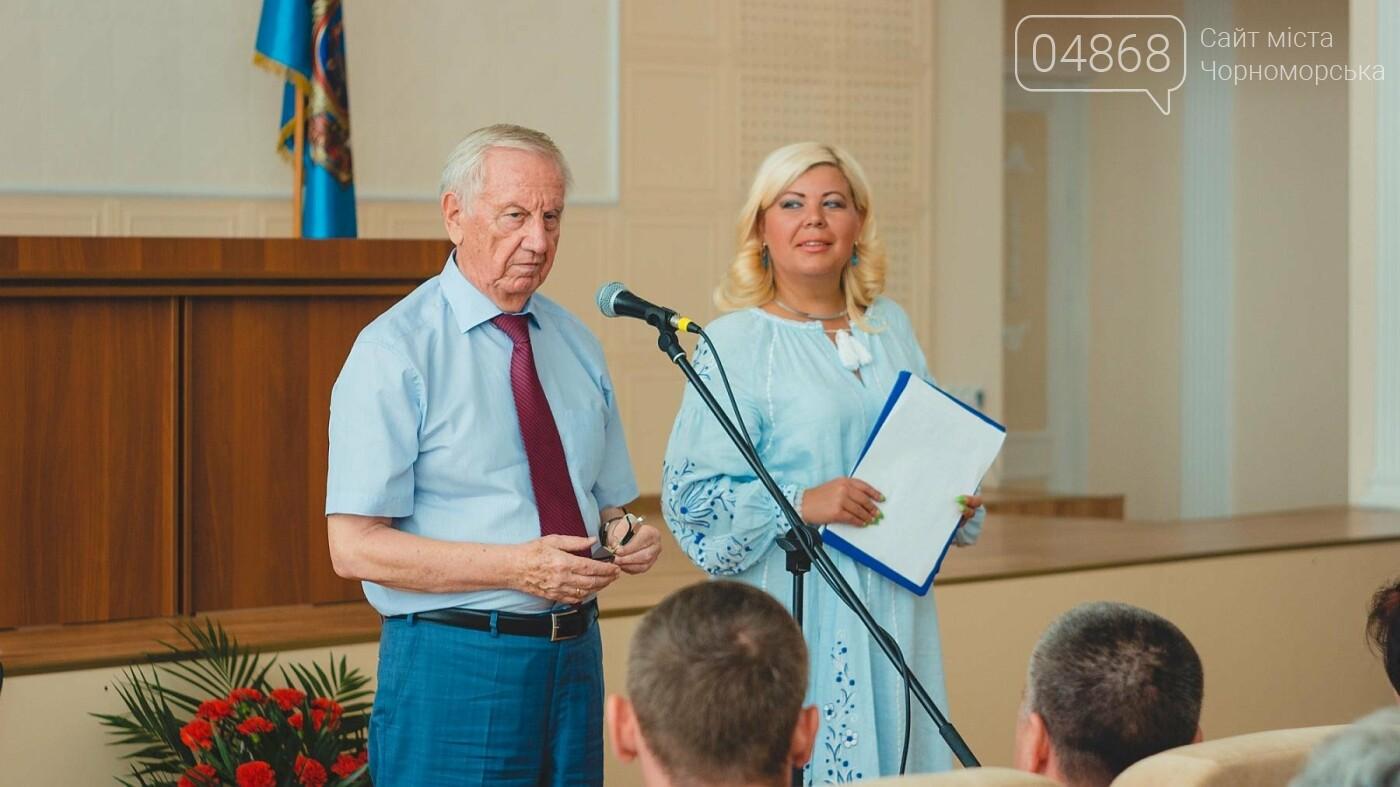 В Черноморске прошло торжественное собрание ко Дню Независимости Украины, фото-7