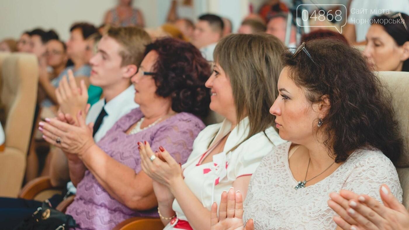 В Черноморске прошло торжественное собрание ко Дню Независимости Украины, фото-5