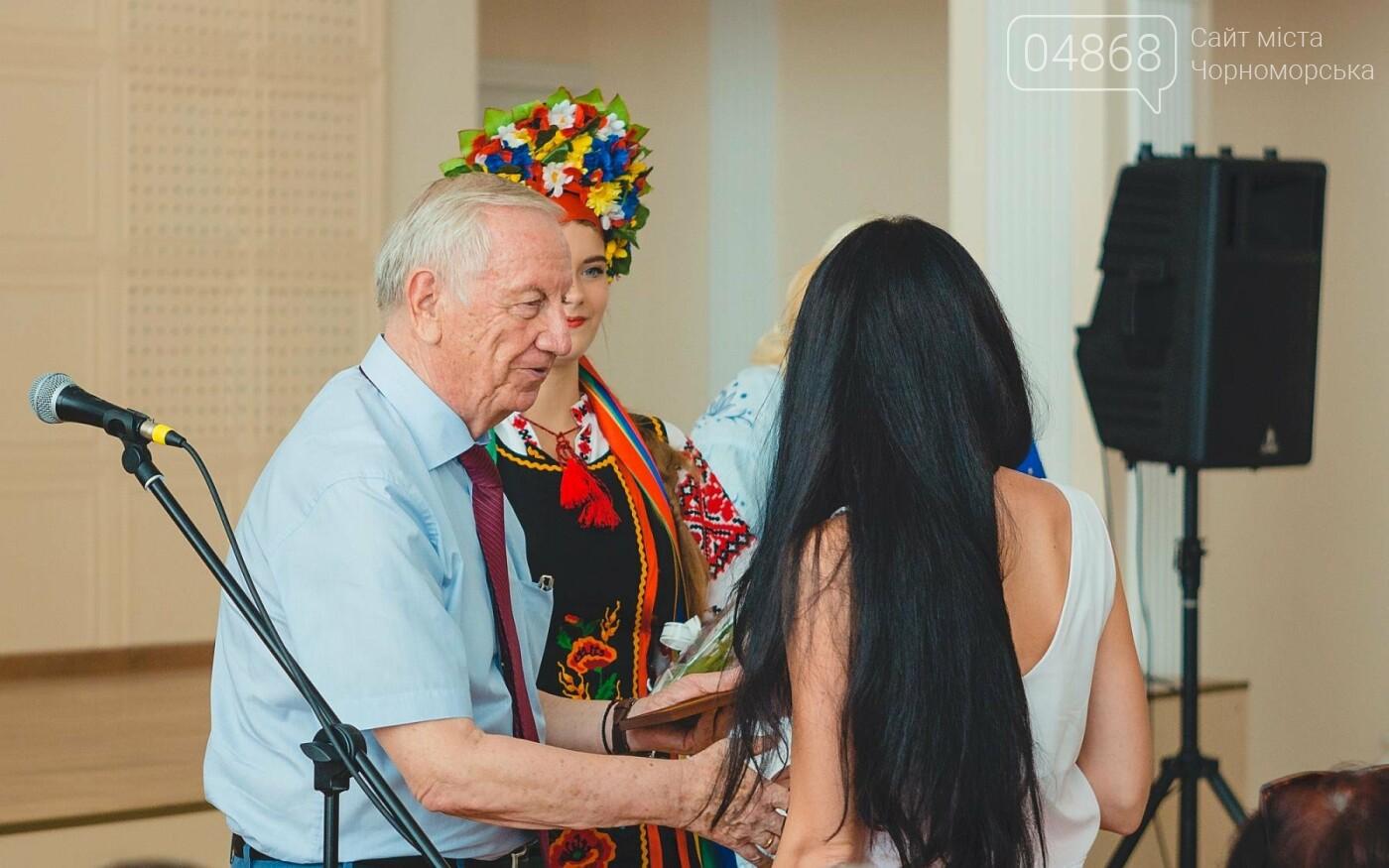 В Черноморске прошло торжественное собрание ко Дню Независимости Украины, фото-8