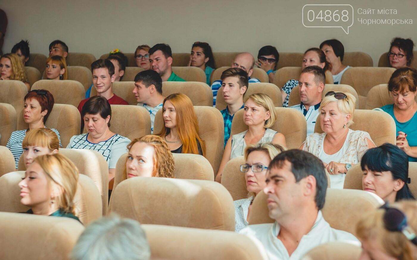 В Черноморске прошло торжественное собрание ко Дню Независимости Украины, фото-11