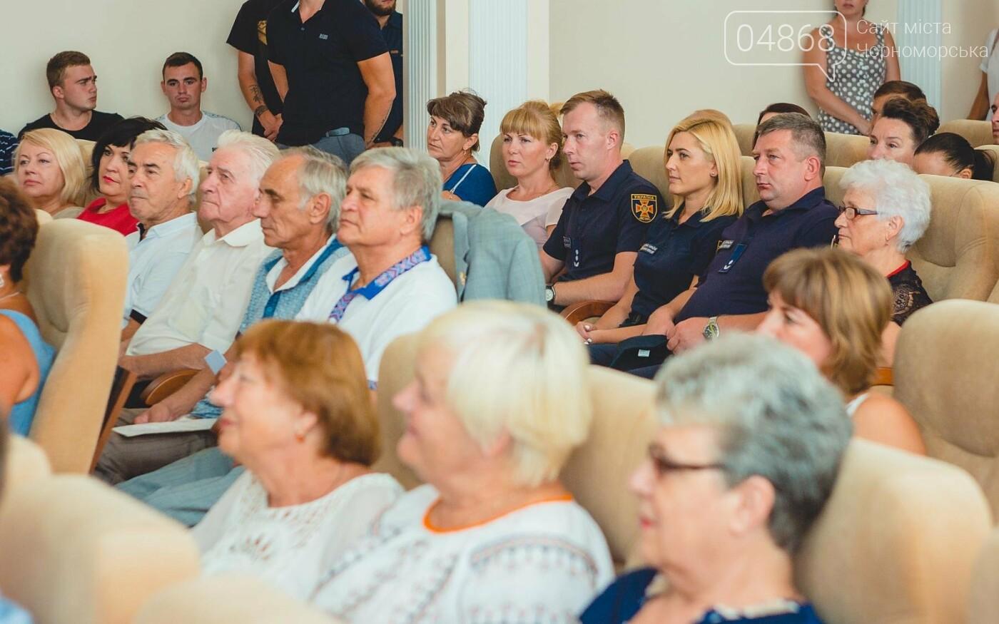 В Черноморске прошло торжественное собрание ко Дню Независимости Украины, фото-3