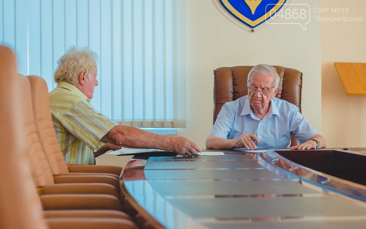 Мэр Черноморска провел личный приём граждан, фото-4