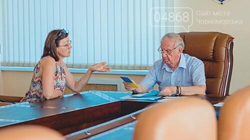 Мэр Черноморска провел личный приём граждан, фото-2