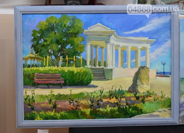 Картины «НИКИ» с видами Черноморска путешествуют, рассказывая о красоте нашего города, фото-1